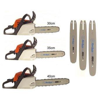 """Schwert 2 Ketten passend für Stihl MS 191T MS 192T MS 192 35 cm 1//4/"""" 72TG 1,1"""