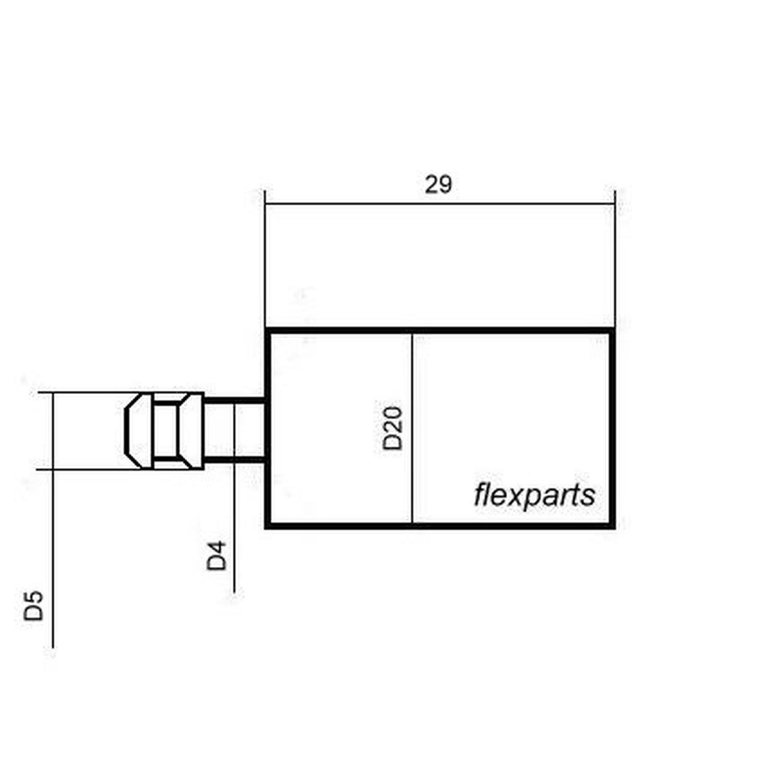 Benzinfilter passend für Motorsäge Husqvarna 41 141  Kraftstofffilter