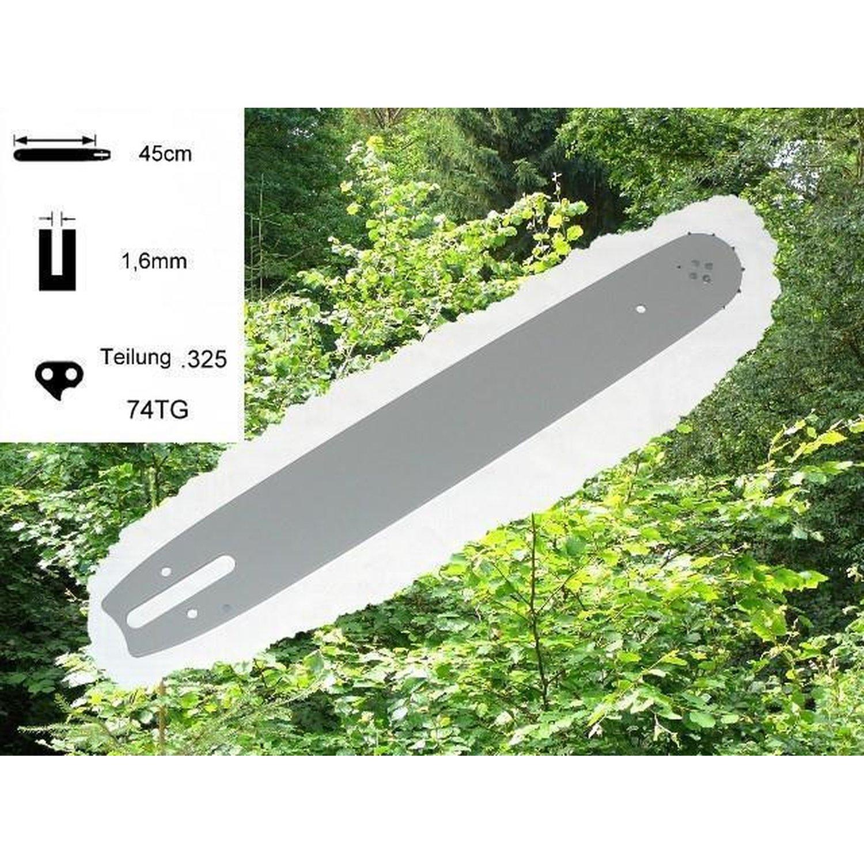 Schwert Kettensäge Stihl 024 026 028-066 MS240 MS260 Führungsschiene Motorsäge