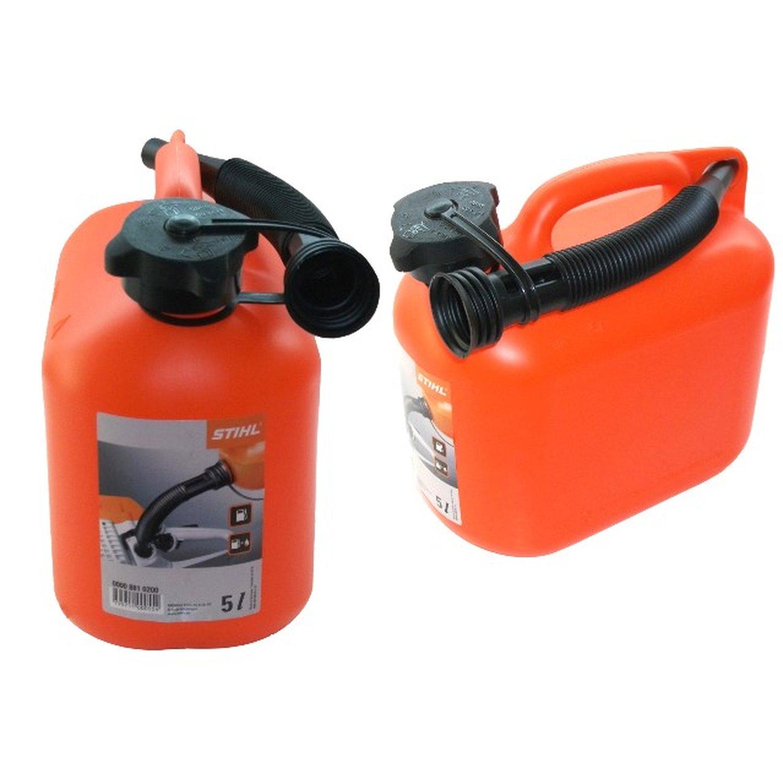 kanister stihl benzinkanister 5 liter mit ausgie er kraftst. Black Bedroom Furniture Sets. Home Design Ideas
