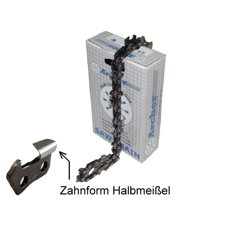 "4 Sägeketten passend Husqvarna 298-43cm 3//8/"" 64TG 1,5mm"