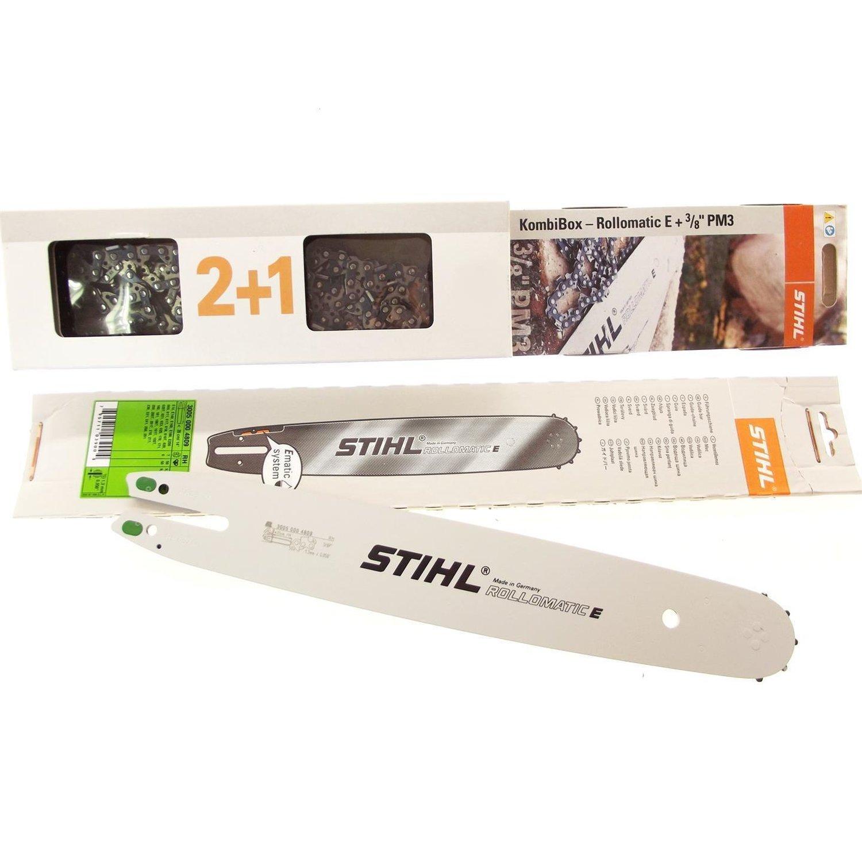 """Schwert passend für Stihl MSE 230 35cm 3//8/"""" 50TG 1,3mm Führungsschiene guide bar"""