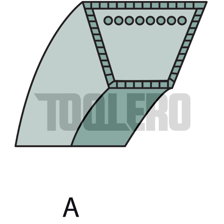 AL-KO 52 BR Classic 51 BR Easy-Mow 5200 HPD Keilriemen 528785 52 BRE