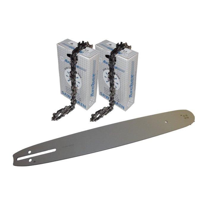 """Kette chain für Stihl 019T MS 190 Schi Carving Set 25cm Schwert guide bar 1//4/"""""""