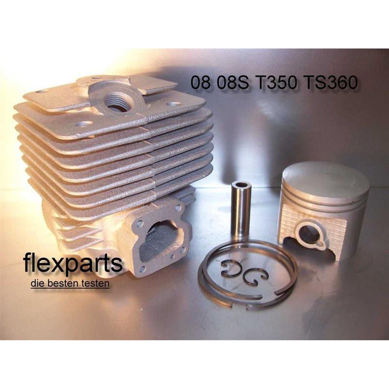piston Zylinder Kolben Set passend für Stihl 08 S 08S 49 mm cylinder