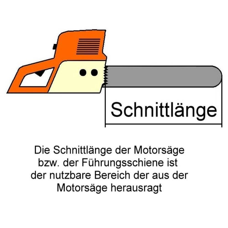 "Halbmeißel Sägekette 3//8/"" 45 cm für DOLMAR Motorsäge PS-5105"